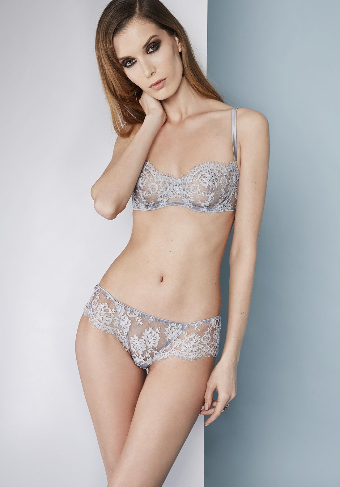 Fantasia Lace and tulle brief