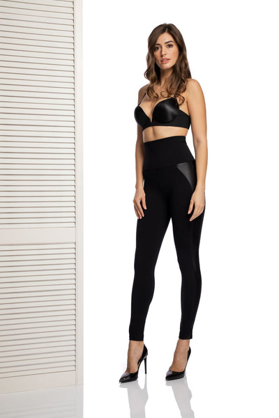 Alessia High Waist Leggings in Black - I.D. Sarrieri
