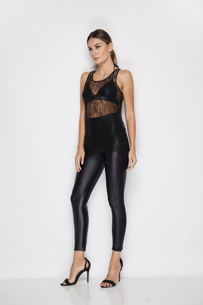 Emanuelle Leggings in Black - I.D. Sarrieri