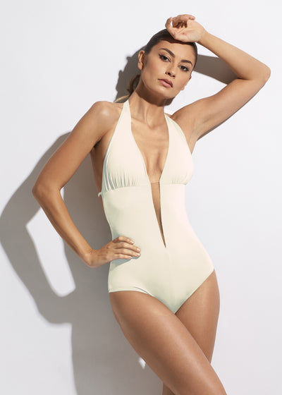 Summer On My Mind Swimsuit in Crème