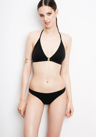 Été à Nice Bandeau Top in Black
