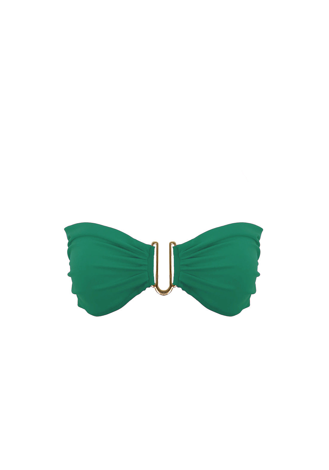 Rêve d'Été Bandeau Bikini Top in Green - I.D. Sarrieri