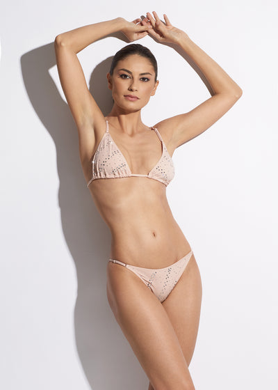 La Muse String Bikini Brief in Nude