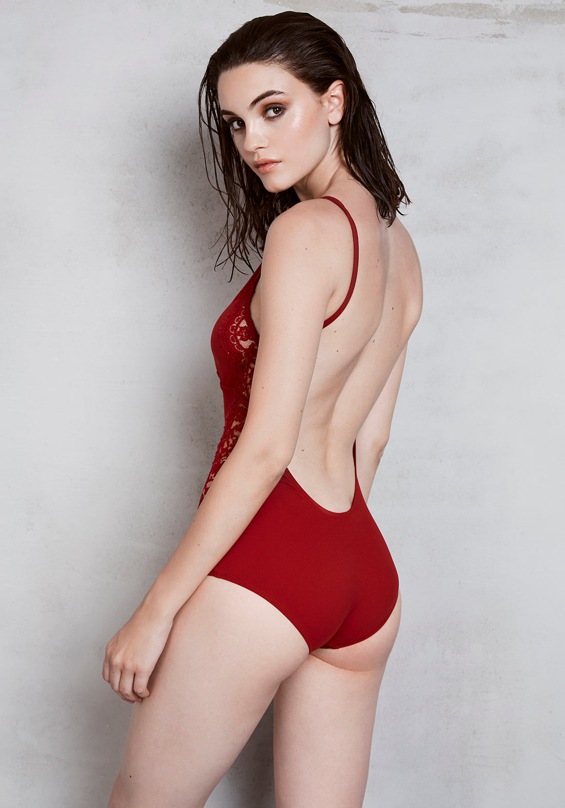 Elite Open Back Swimsuit - I.D.Sarrieri