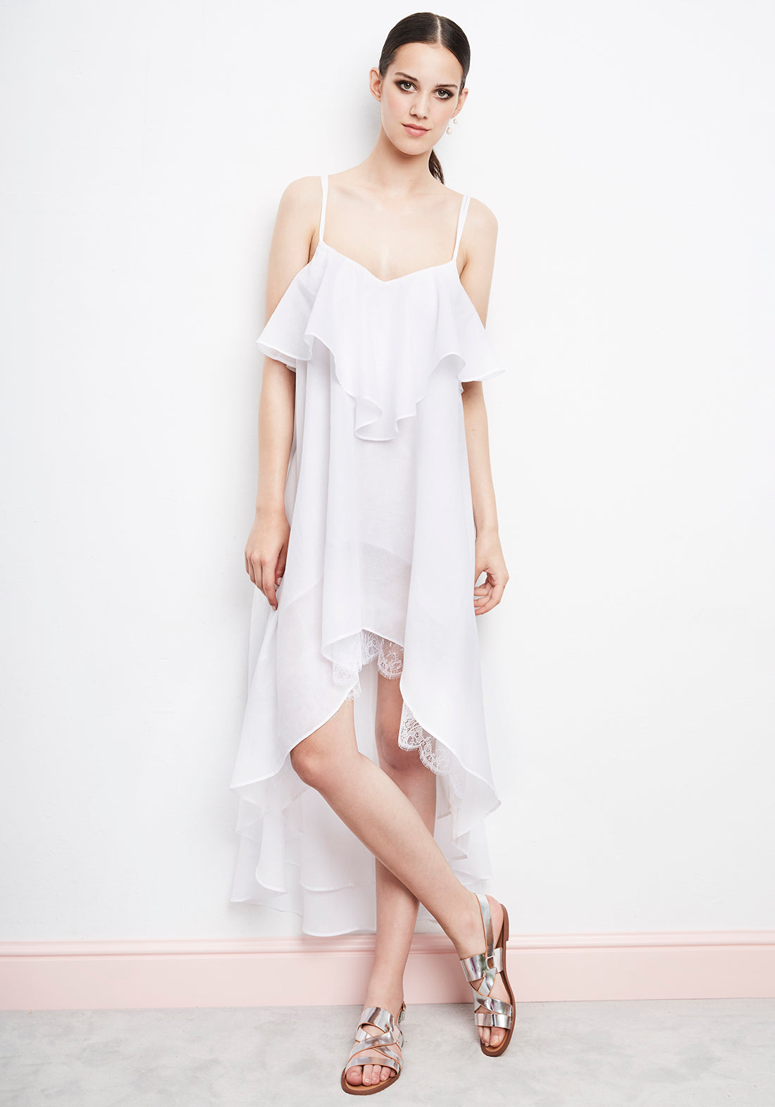 Summertime Asymmetric Beach Dress - I.D.Sarrieri