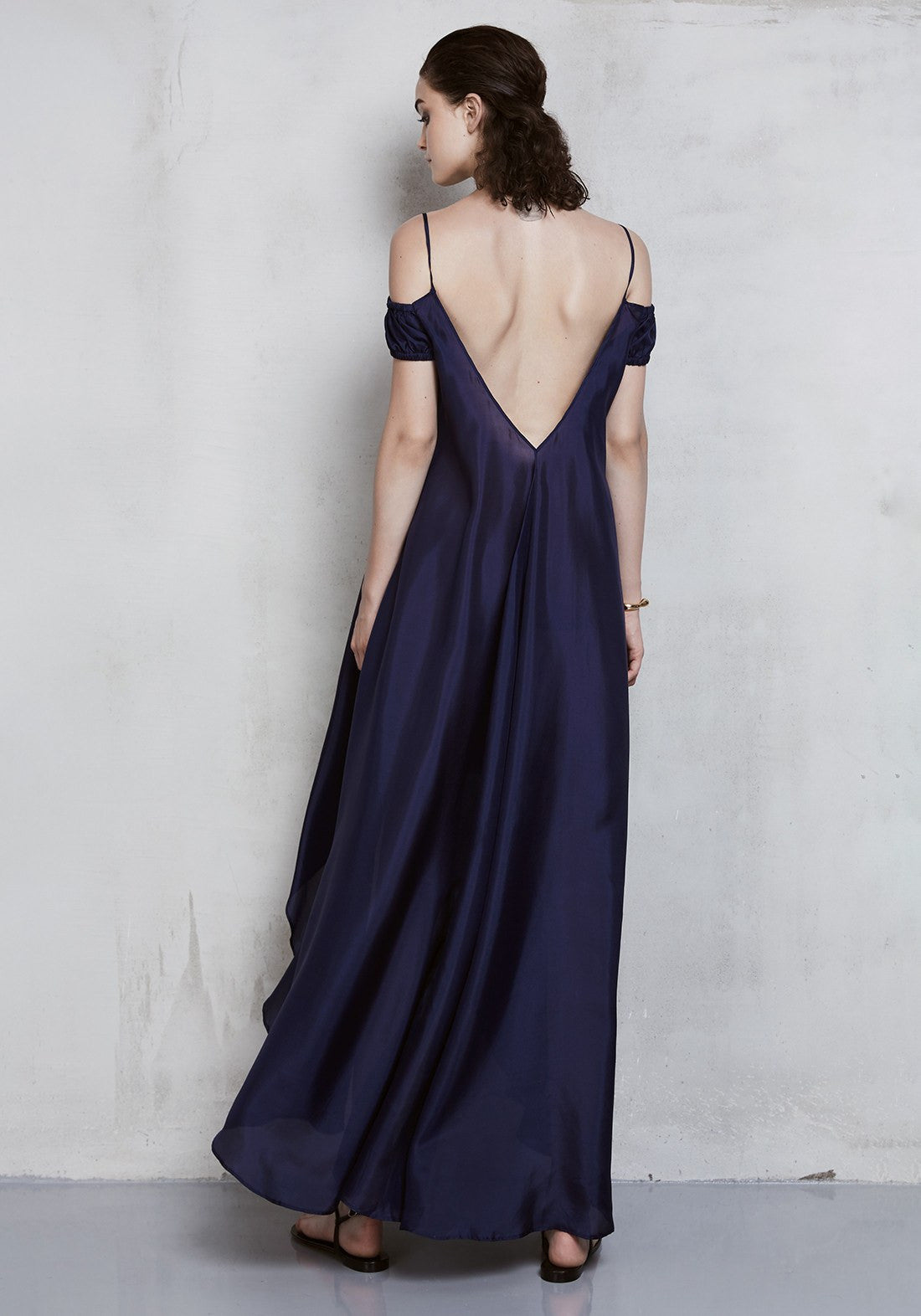 Wanderlust Off the Shoulder Long Dress - I.D.Sarrieri