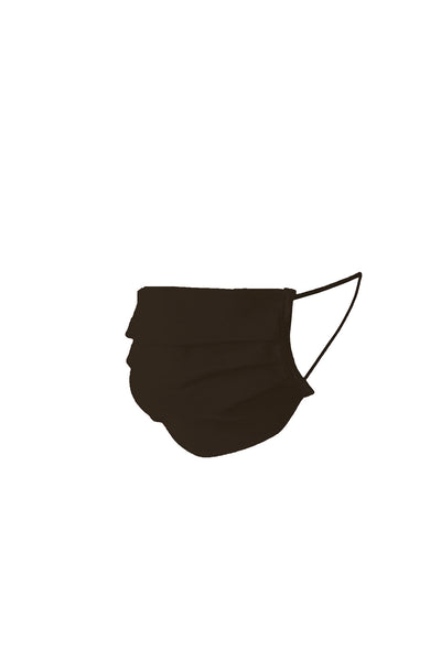 Maria Mask Cotton in Brown - I.D. Sarrieri