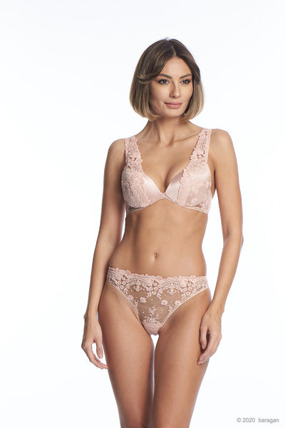 Annabelle Push-Up Bra in Rose - I.D. Sarrieri