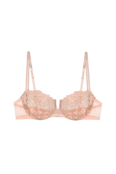 Annabelle Balconette Bra in Rose - I.D. Sarrieri