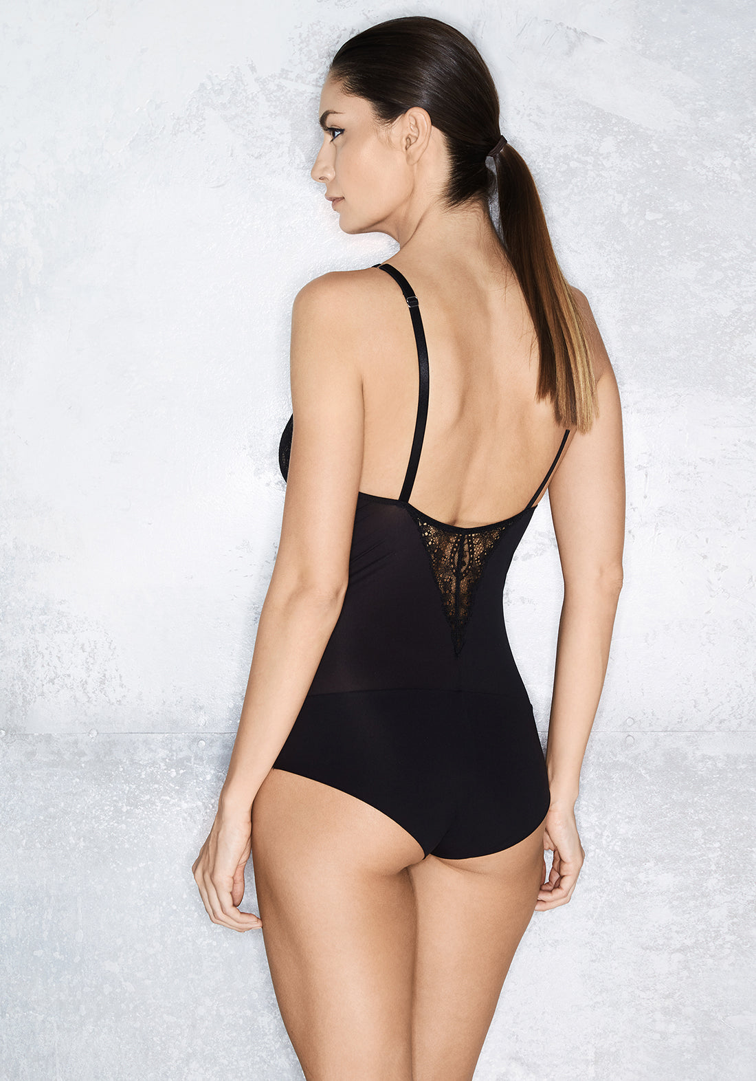 Starlight Bodysuit in Black