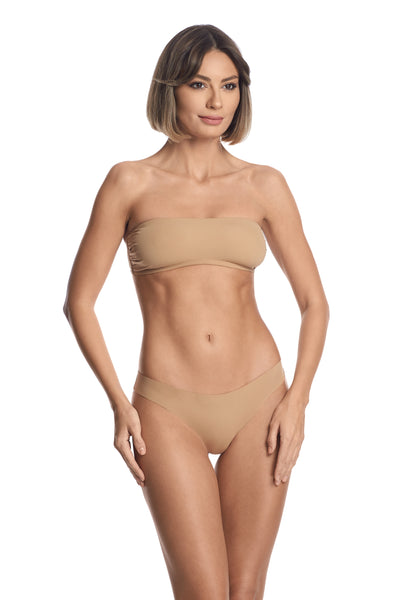 Essentials Bandeau Bra in Nude - I.D. Sarrieri