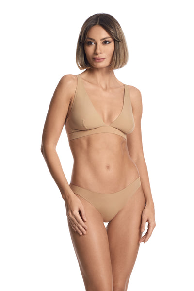 Essentials Triangle Bra in Nude - I.D. Sarrieri