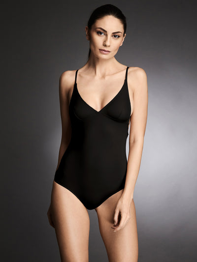 Essentials Bodysuit in Black - I.D. Sarrieri