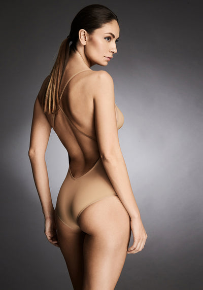 Essentials Bodysuit in Nude - I.D. Sarrieri