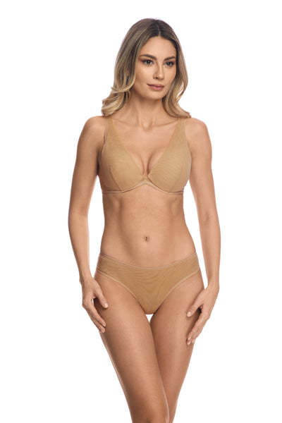 Clair de Lune Briefs in Sand - I.D. Sarrieri