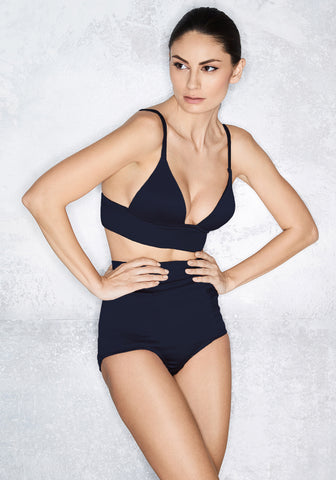 Noir Comme La Robe High Waist Brief in Black