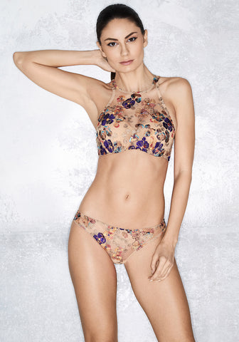 Wonderland Delights Triangle Bra in Tuscan Summer
