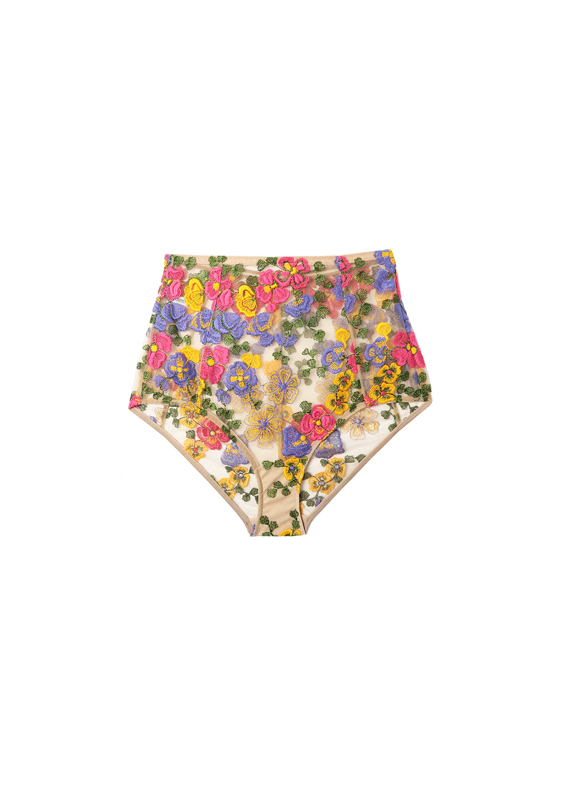 Wonderland Delights High Waist Brief in Tuscan Summer - I.D. Sarrieri