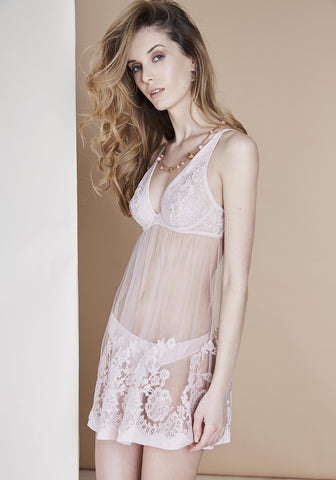Toujours Amour Camisole in Rose