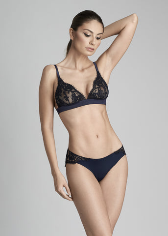 Fantasia Soft-cup Triangle Bra in Navy