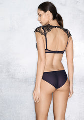 Mystère de Minuit Brazilian Brief in Midnight Blue
