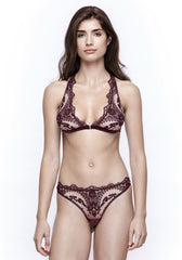 Mystère De Minuit Brazilian Brief in Dark Berry