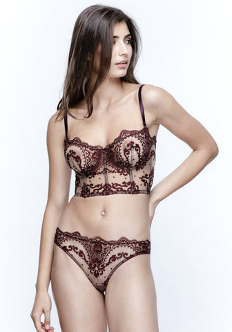 Célestine Brazilian Brief in Rose Quartz