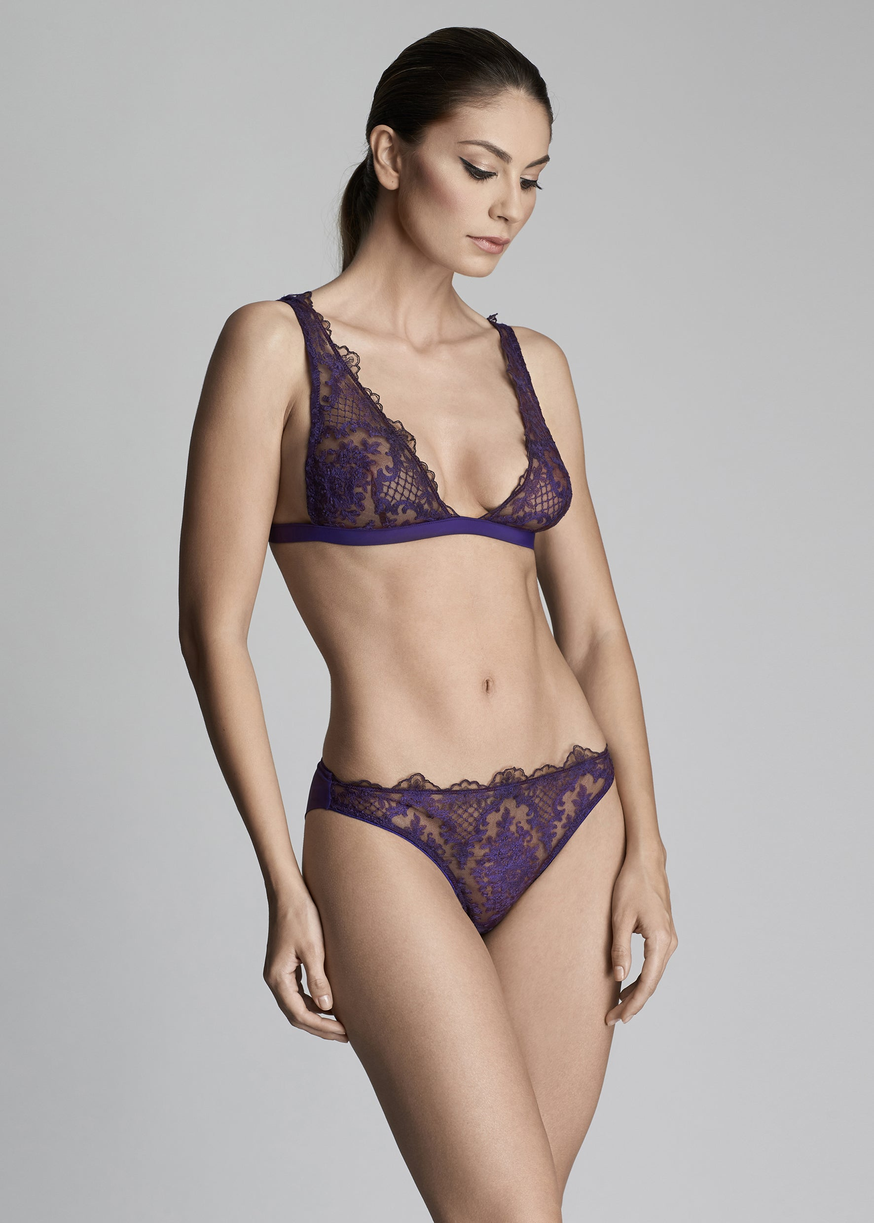 Endless Nights Briefs in Purple Plum