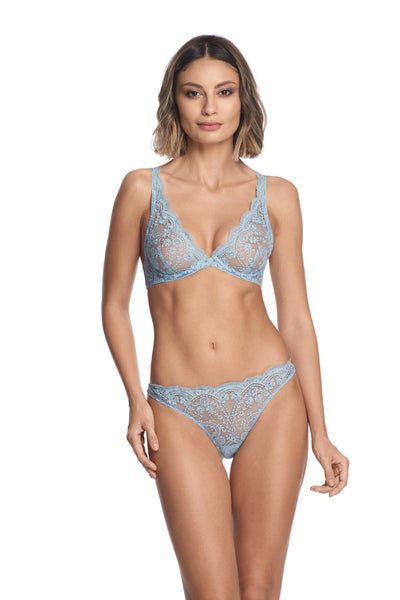 À La Rose Brief in Blue Ciel - I.D. Sarrieri