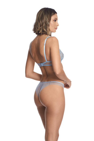 À La Rose Thong in Blue Ciel - I.D. Sarrieri