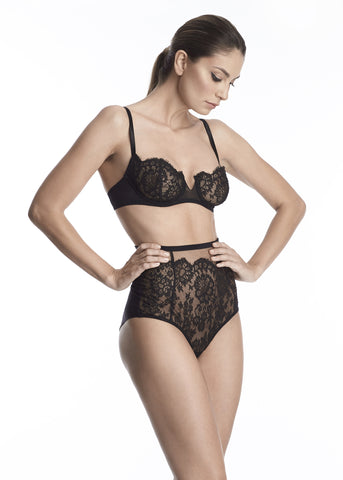 Annabelle Soft Cup Triangle Bra in Rosewood