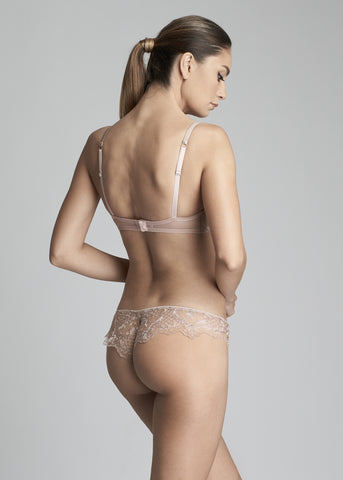 Accord Privé Underwired Half Cup Bra in Rose Tendre
