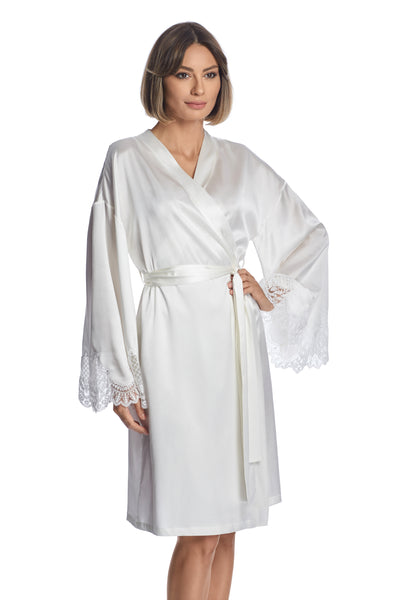 Lasting Love Robe in Ivory - I.D. Sarrieri