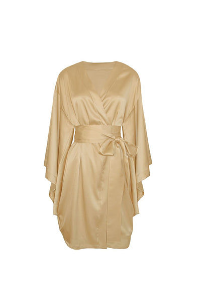 In The Mood For Love Robe in Gold - I.D. Sarrieri