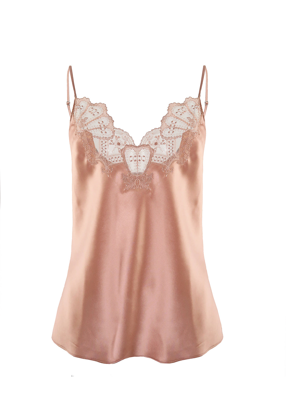 Desert Rose Camisole in Rose Gold