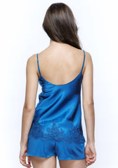 East of Eden Camisole in Indian Blue