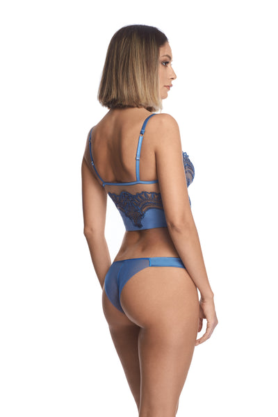 Midnight Affair Demibustier in Blue Mirage - I.D. Sarrieri