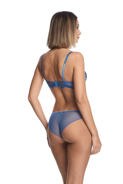 Midnight Affair Push-Up Bra in Blue Mirage - I.D. Sarrieri