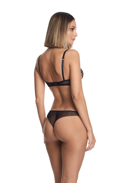 Self Love Panty String in Black - I.D. Sarrieri