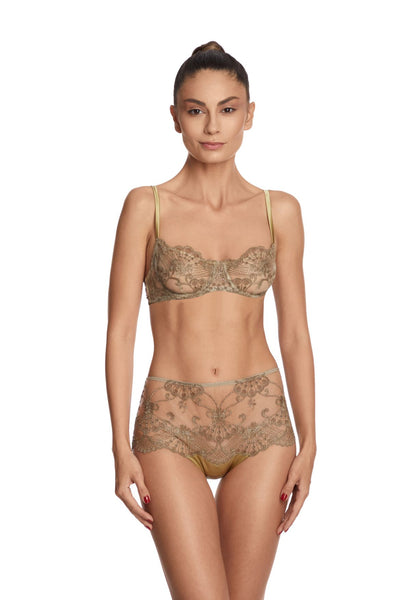 Rosam Balconette Bra in Gold - I.D. Sarrieri