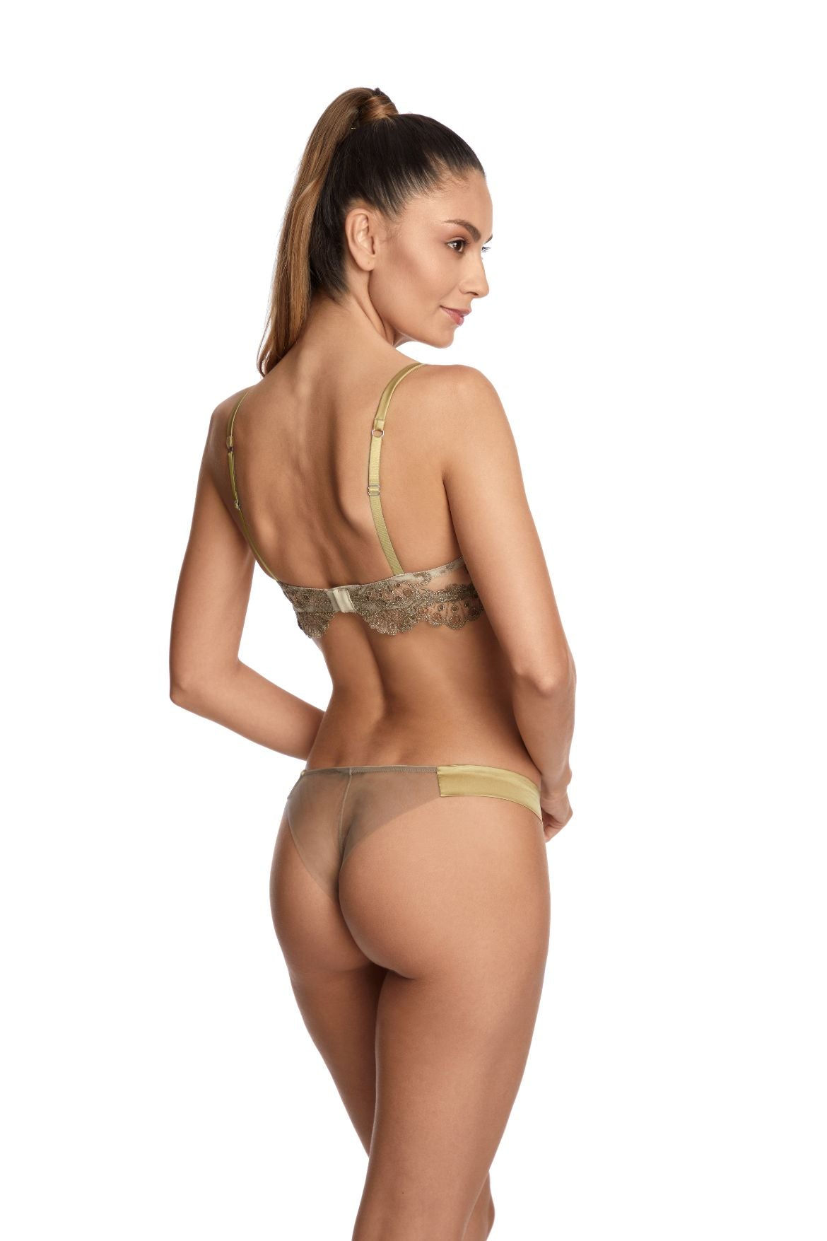 Rosam Thong in Gold - I.D. Sarrieri