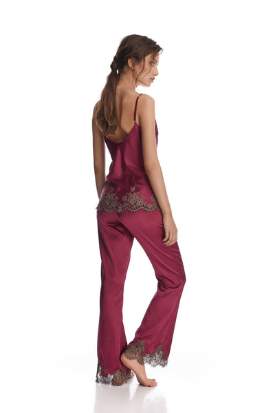 Hôtel Particulier Camisole in Orchid/Mink