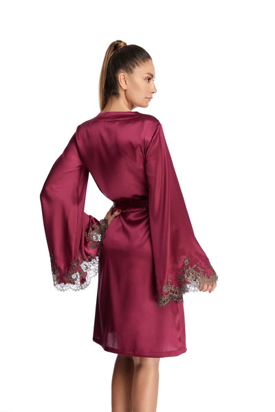 Hotel Particulier Robe in Orchid/Mink