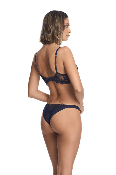 Valerie Thong in Midnight Blue - I.D. Sarrieri