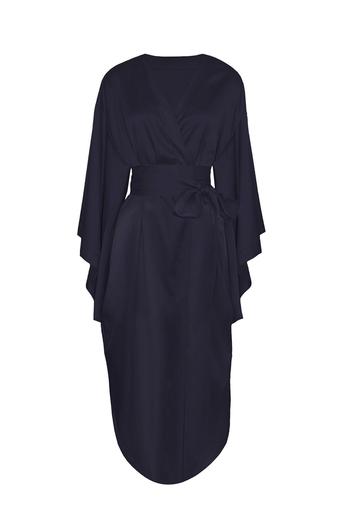 Lombard Street Robe in Charcoal - I.D. Sarrieri