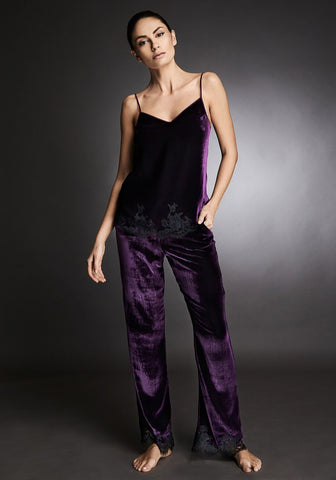 Tresor Imperiale Long Pants in Royal Haze