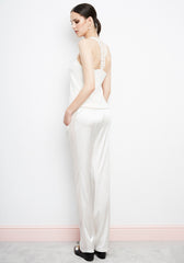Lys d'Hiver Racer Back Top in Ivory