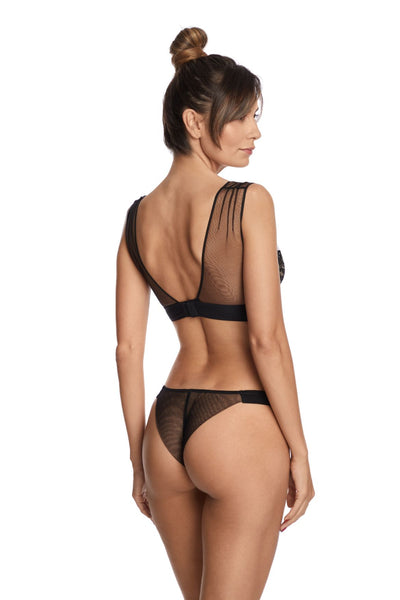 Questa Sera Underwired Bra in Black - I.D. Sarrieri