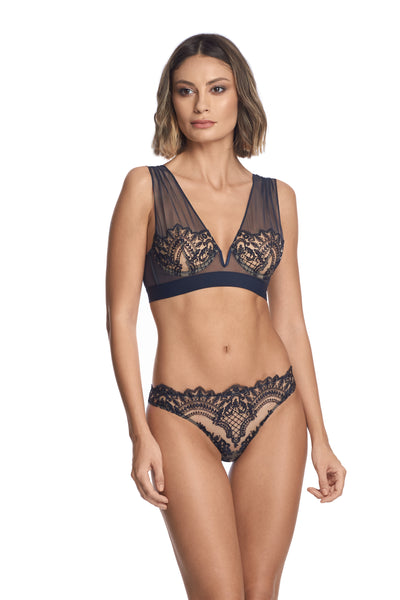Questa Sera Underwired Bra in Midnight Blue - I.D. Sarrieri