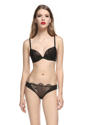 Hollywood Dream Brazilian Brief in Black